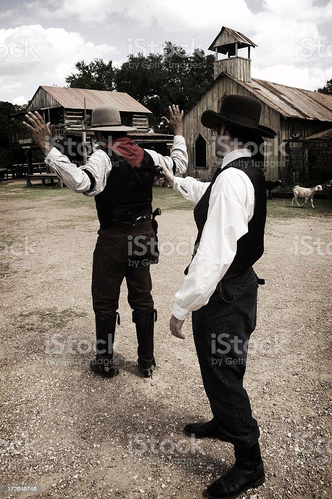Western Scene stock photo