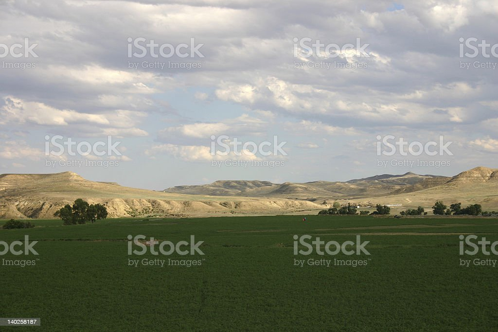 Western Sky royalty-free stock photo
