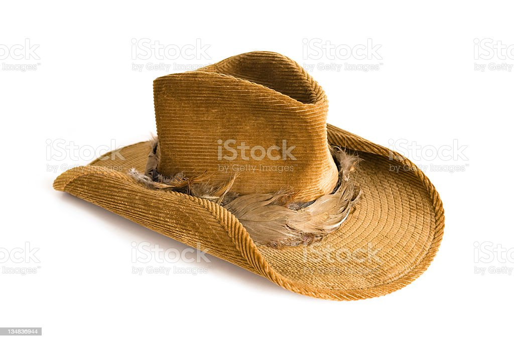 Western style cowboy hat royalty-free stock photo