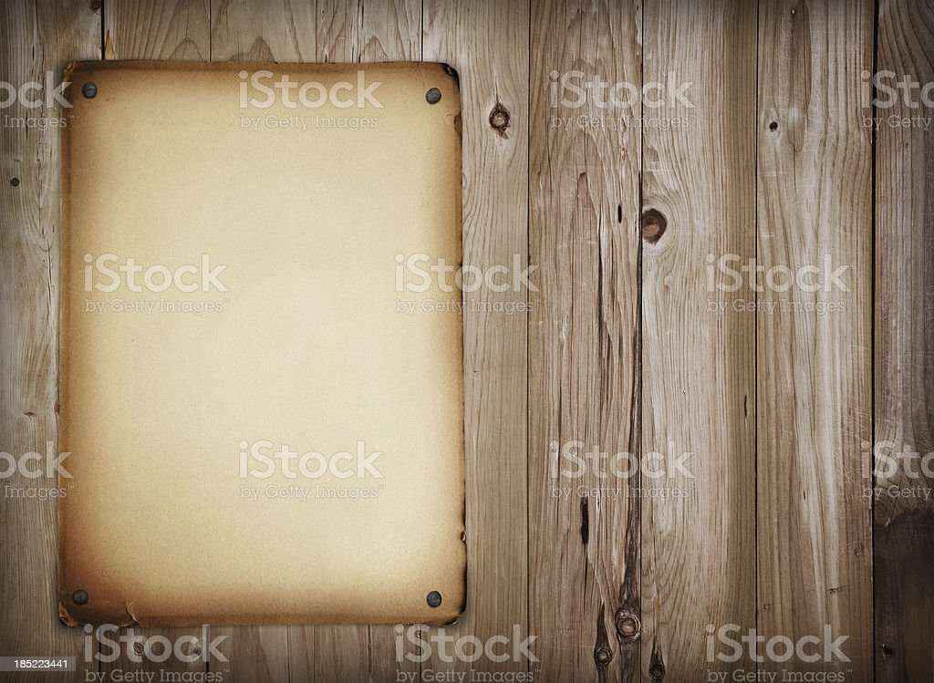 Western style sign royalty-free stock photo