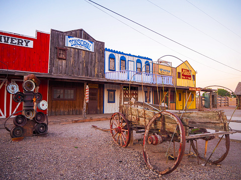 In July 2019, tourists could admire the old western style village of Seligman in Arizona.