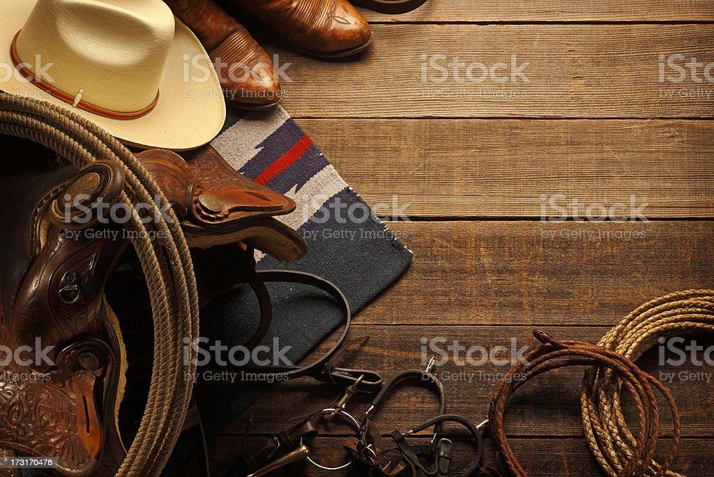 Western Theme stock photo