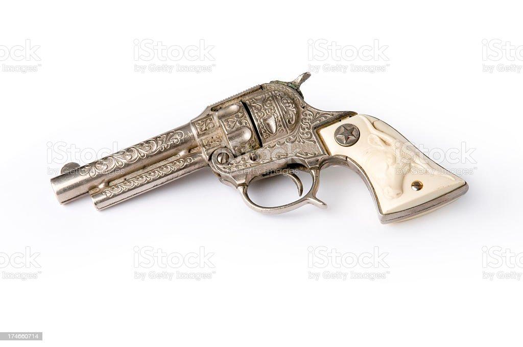 Western Toy Gun Replica royalty-free stock photo