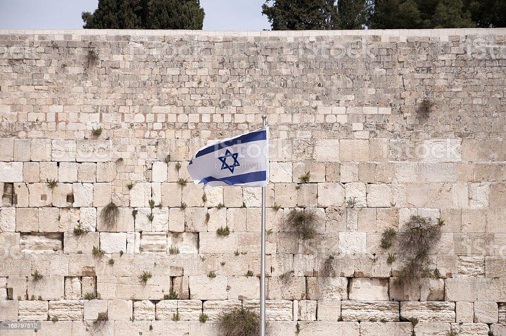 Western Wall, Jerusalem old city stock photo