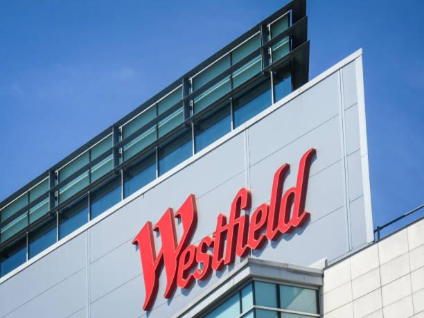 Centro comercial de Westfield London - foto de stock