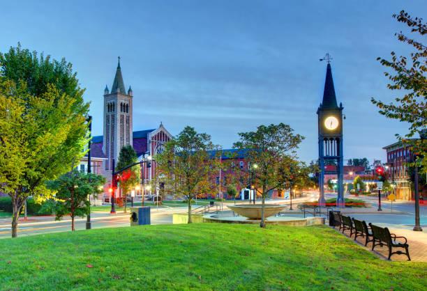 Westfield, Massachusetts stock photo