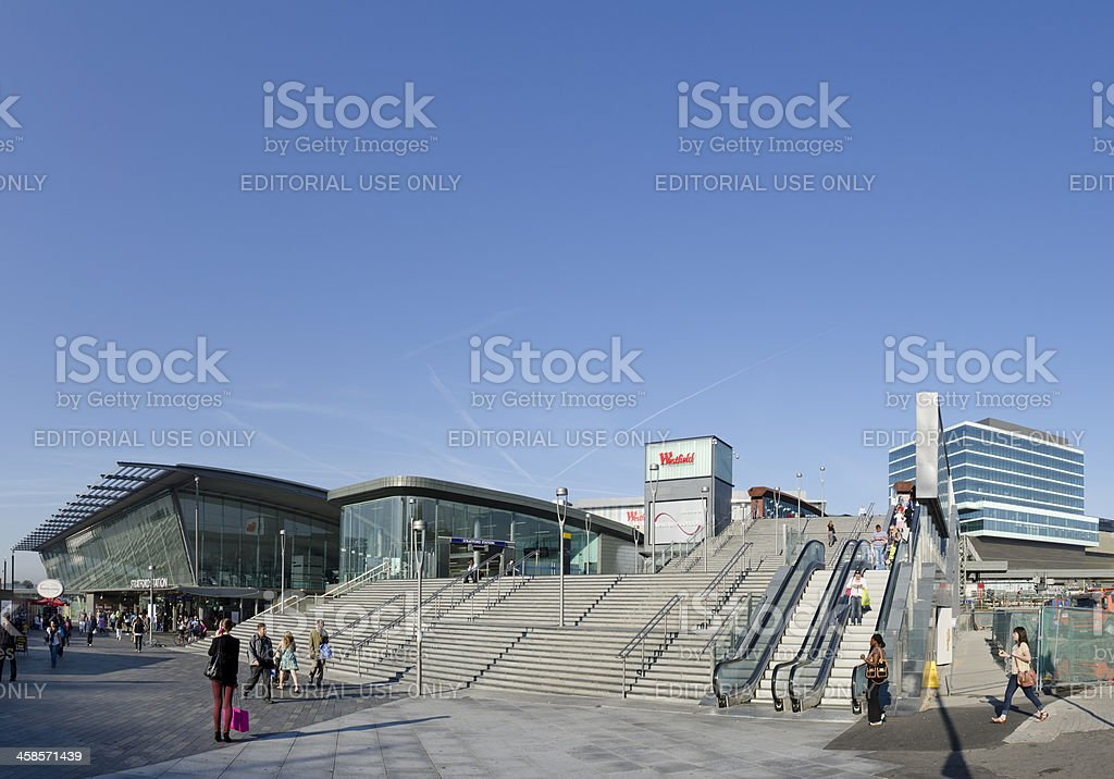 Westfield shopping Center Eingang, London – Foto