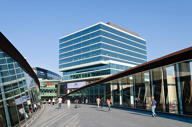 Westfield shopping Center Eingang, London – Foto