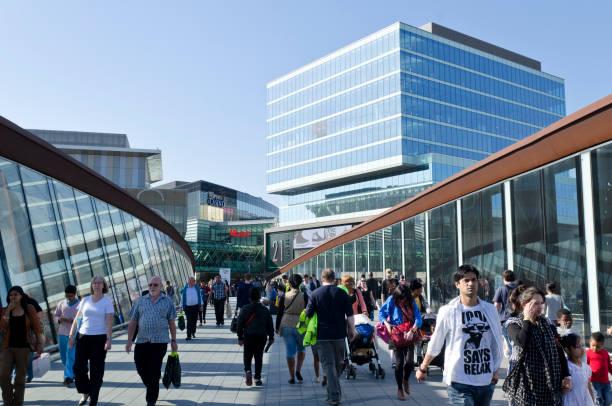 Westfield shopping centre, der Olympischen Spiele 2012 in London Website – Foto