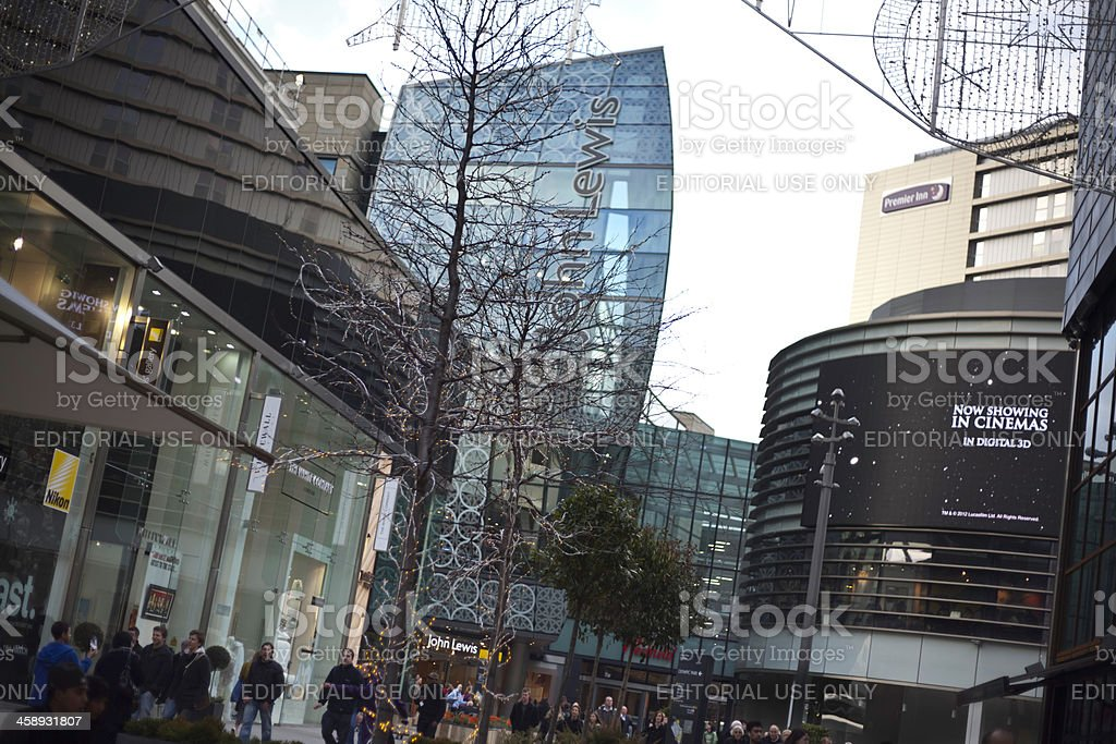 Westfield Shopping Centre, Stratford, London. stock photo