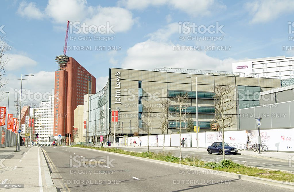 Westfield Shopping Centre, Stratford stock photo