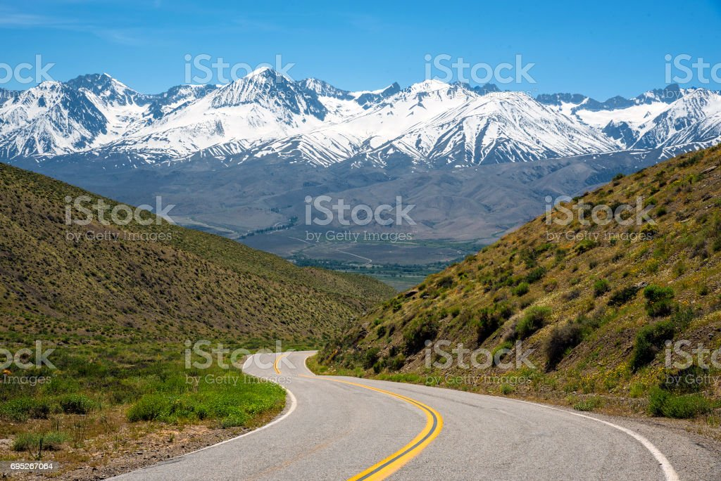 Westgard Pass stock photo