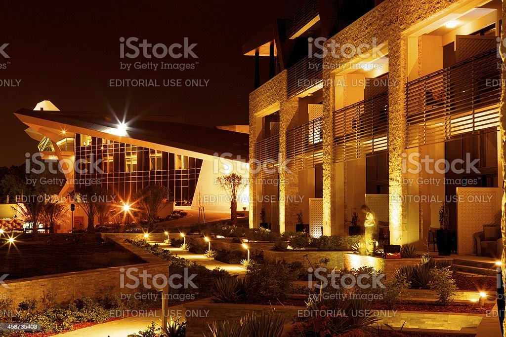 UAE - Westin Abu Dhabi Golf Resort and Spa stock photo