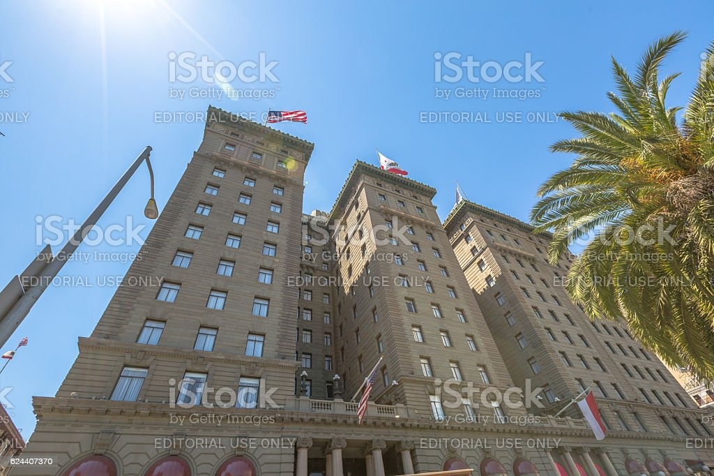Westin St. Francis Hotel stock photo