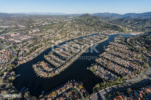 istock Westlake Village Aerial Southern California 1286776721