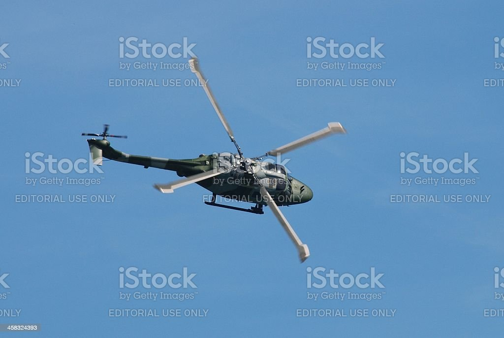 Westland AH.7 Lynx helicopter stock photo