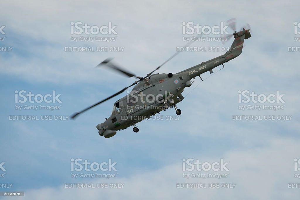 Westland Lynx Helicopter stock photo