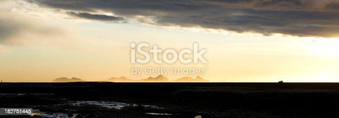 istock Westman Islands in sunset, Iceland. 182751445