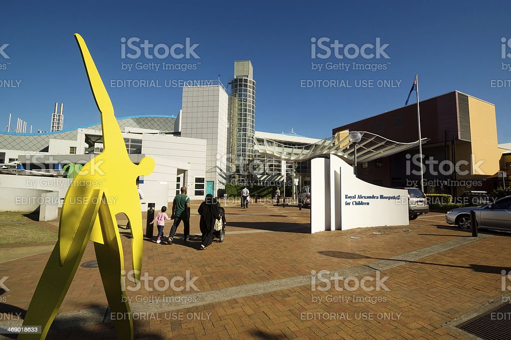 Westmead - The Children's Hospital stock photo