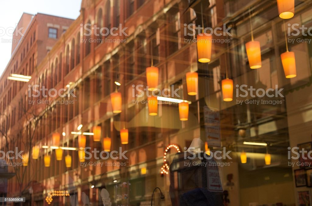 Westminister Street, Providence stock photo
