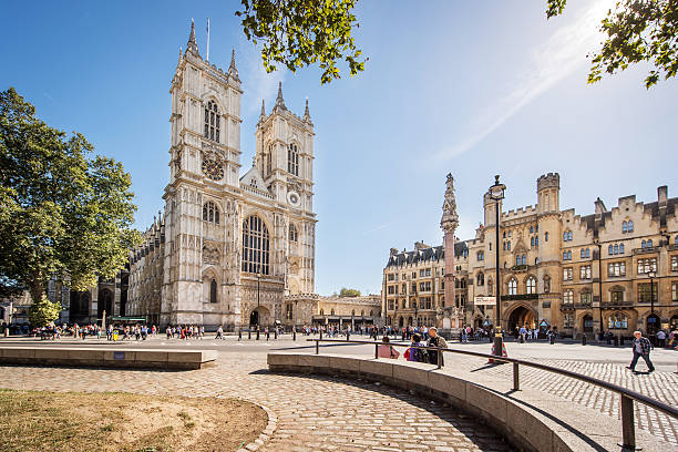 Westminster Abbey from Broad Sanctuary – Foto