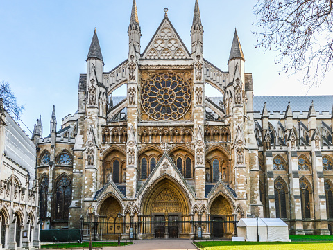 Westminster Abbey In London Stock Photo - Download Image Now