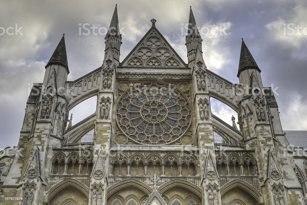 Westminster Abbey, London, HDR stock photo