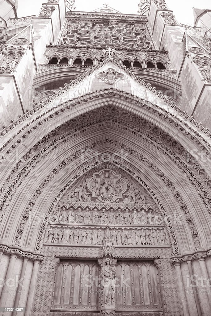 Westminster Abbey; London stock photo