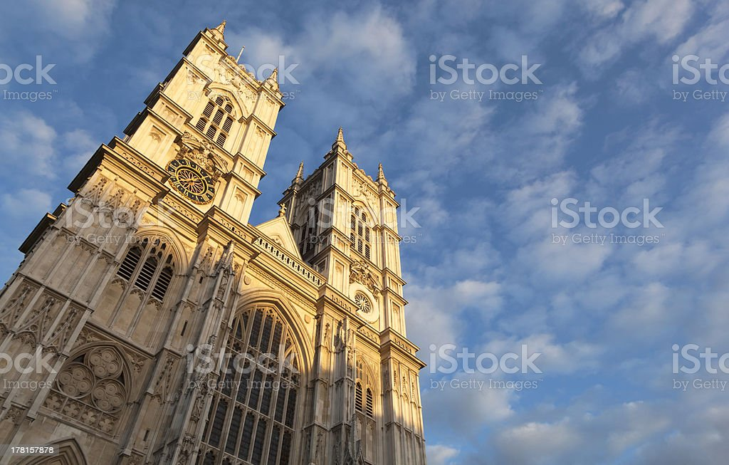 Westminster Abbey London royalty-free stock photo