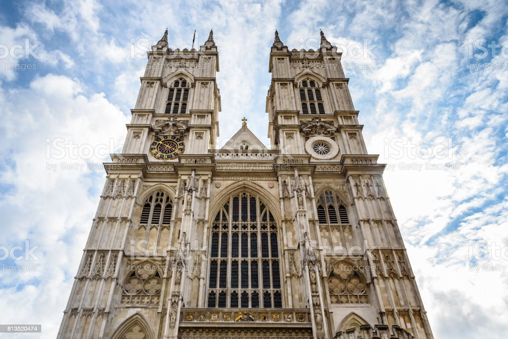 Westminster Abbey, London, United Kingdom stock photo