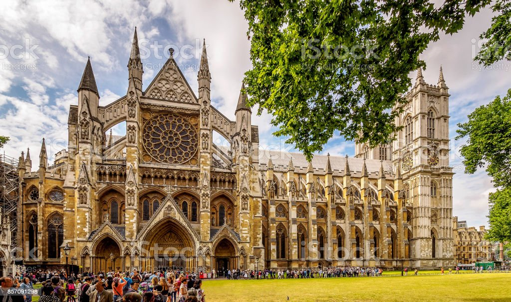 Westminster Abbey stock photo
