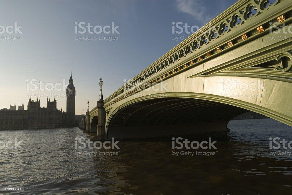 Westminster Bridge. London. stock photo