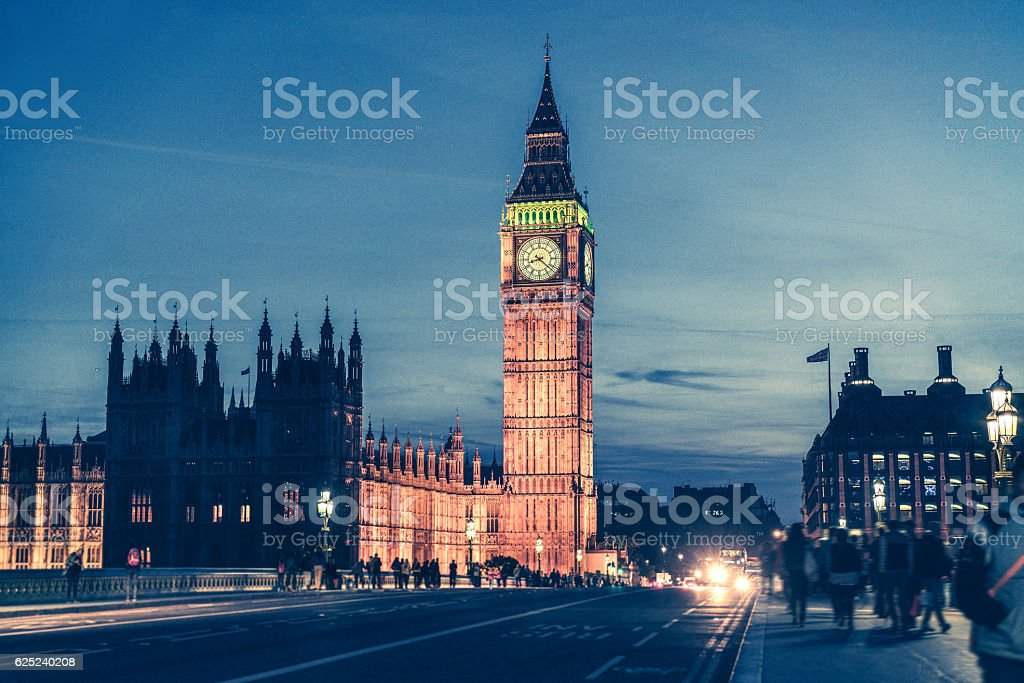 Westminster Bridge und Big Ben in London – Foto