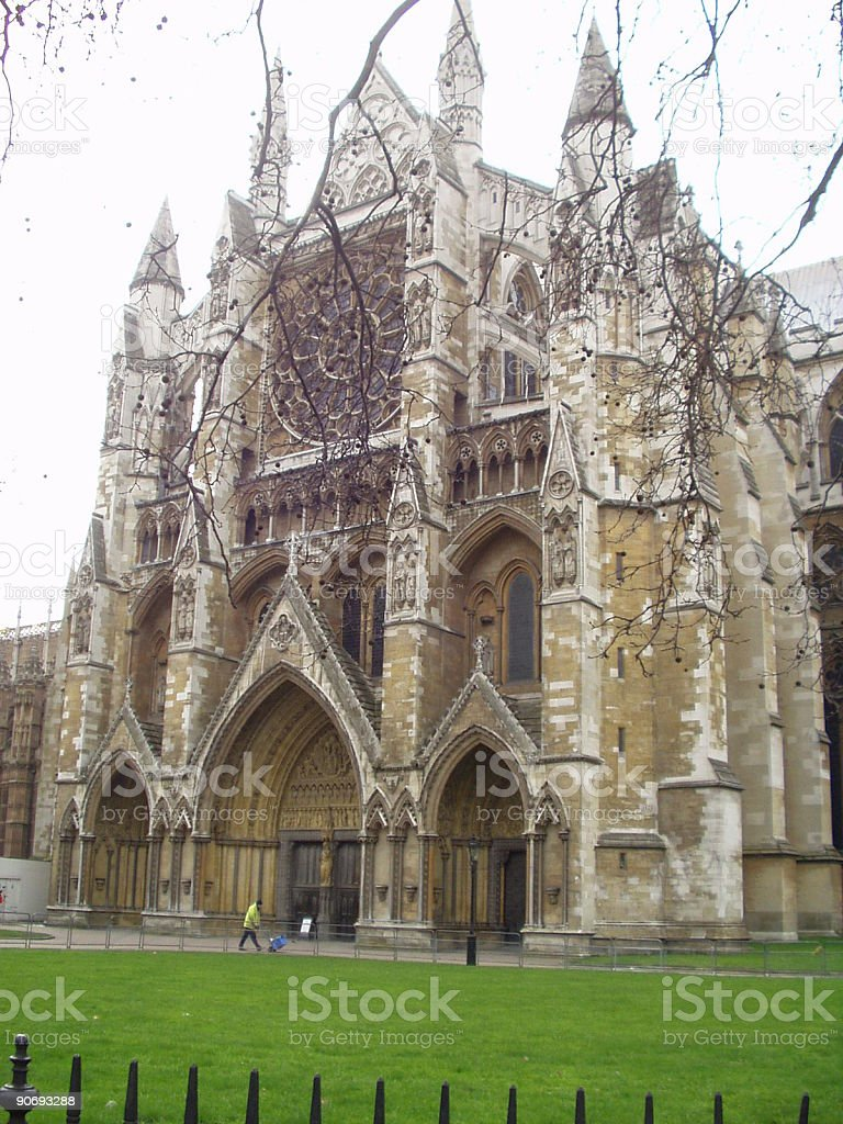 Westminster Cathederal - North Entrance royalty-free stock photo