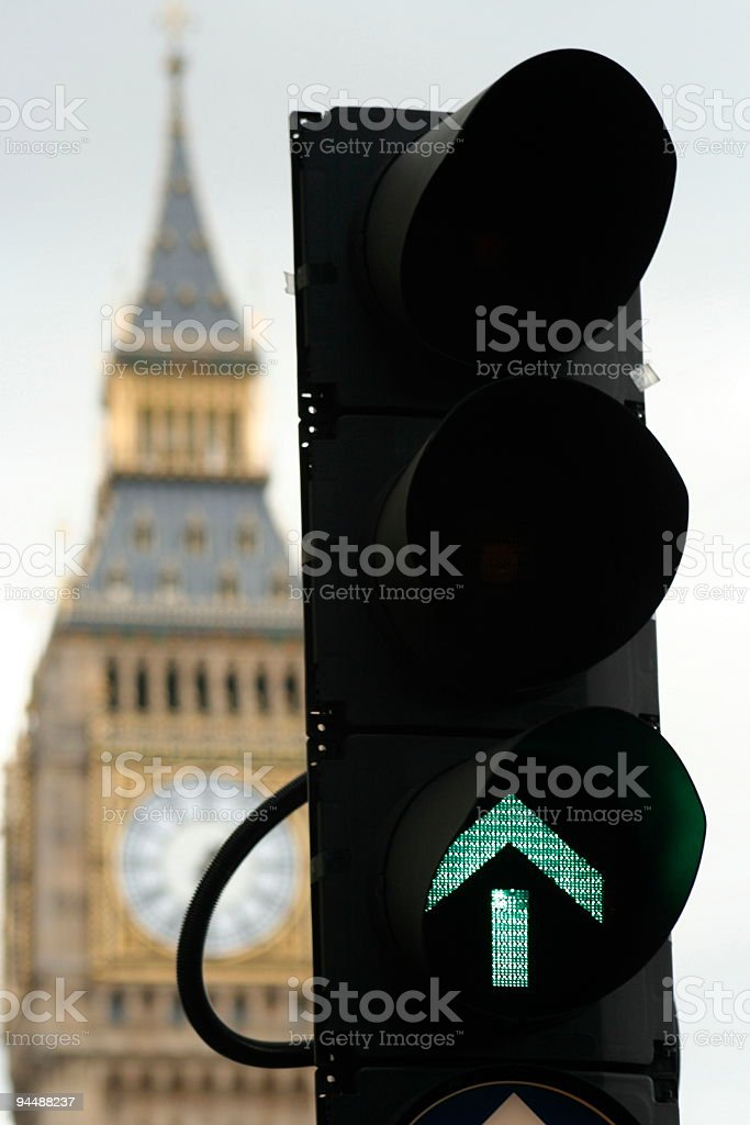 Westminster is go! stock photo
