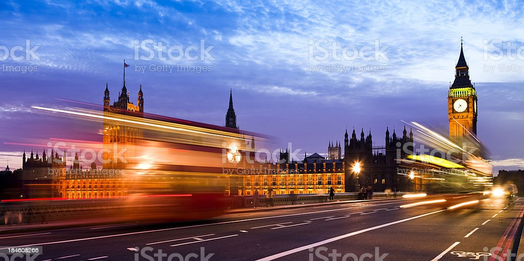 Westminster, London royalty-free stock photo