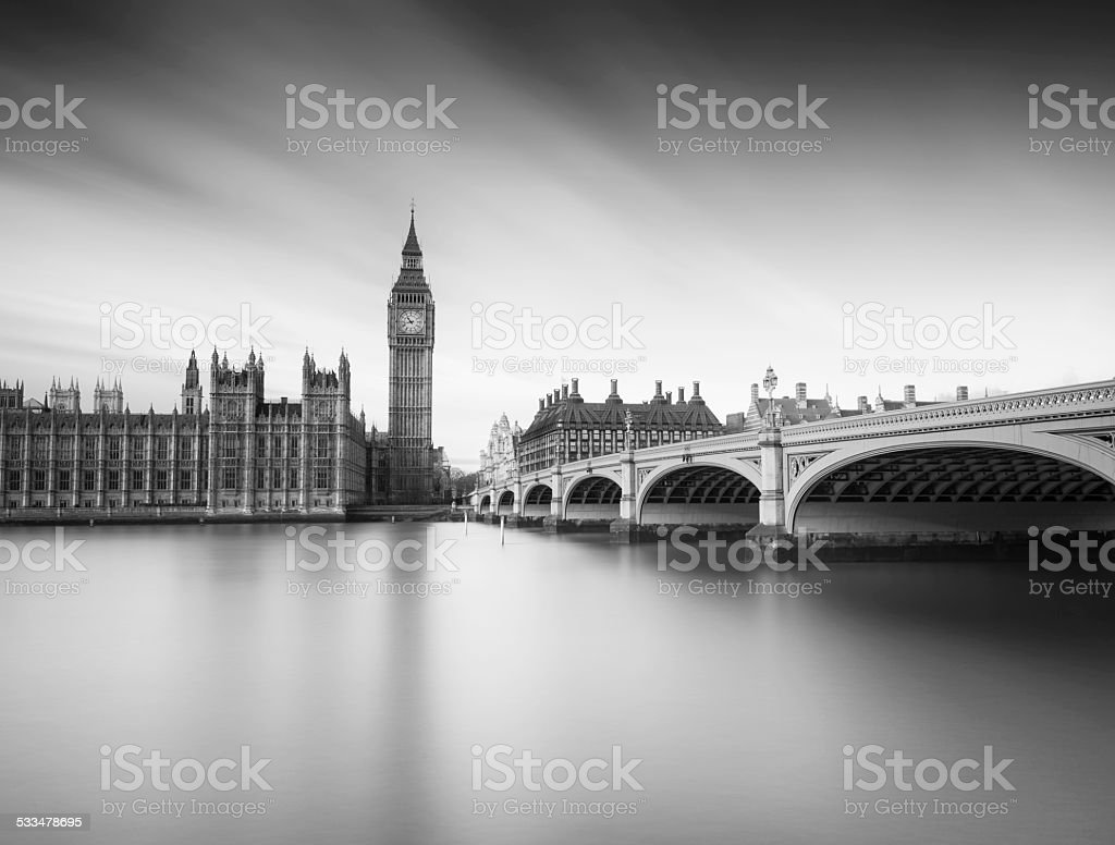 Westminster, London stock photo