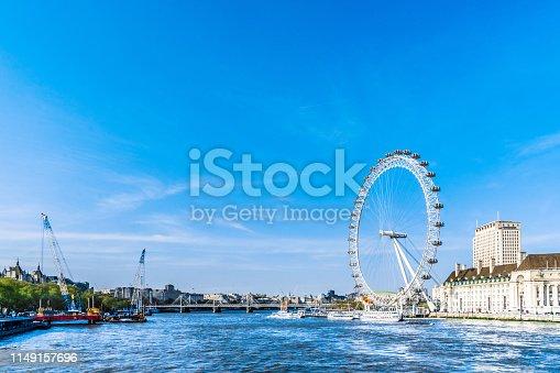 London - England, Millennium Wheel, Wheel, Big Ben, UK