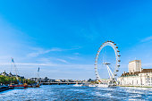 London - England, Millennium Wheel, Wheel, Big Ben, UK
