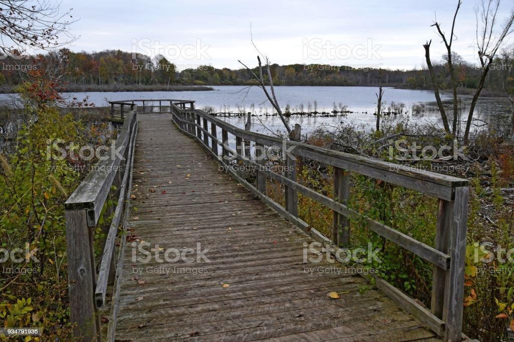 웨스트 민스터 연못 런던 온타리오 - 로열티 프리 0명 스톡 사진