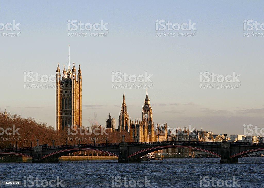 Westminster Scene stock photo