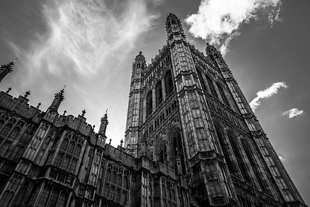 Westminster tower Brexit mono – Foto