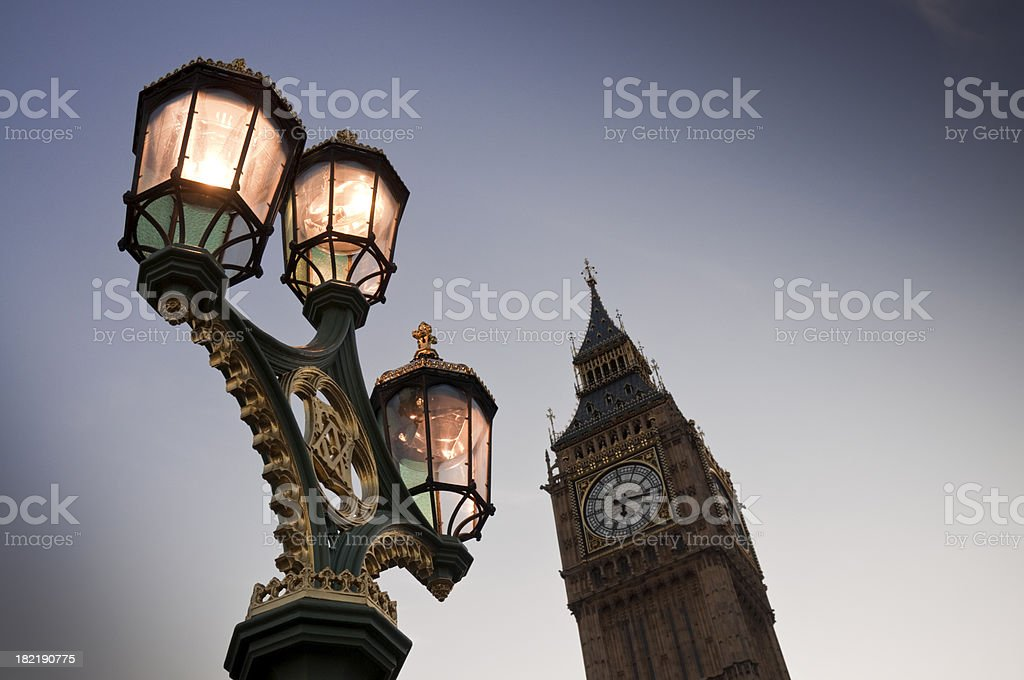 Westminster Twilight royalty-free stock photo