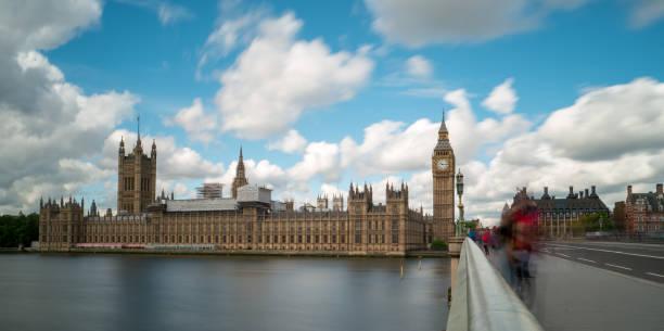 Westminster mit Big Ben – Foto