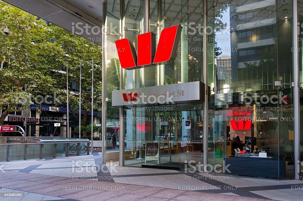 Westpac Zweig, Marktstraße, Sydney, Australien – Foto