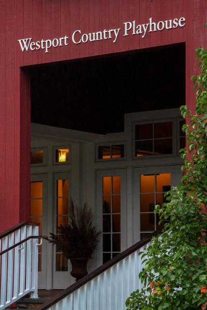 Westport, Connecticut / USA: Westport Country Playhouse stock photo