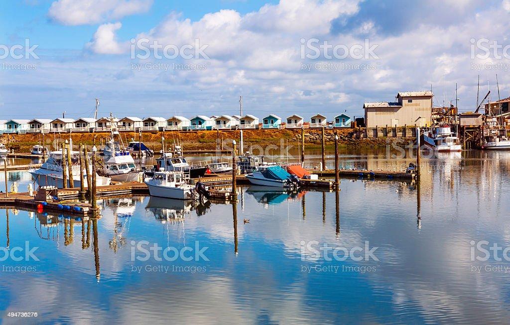 Westport Grays Harbor Washington State stock photo