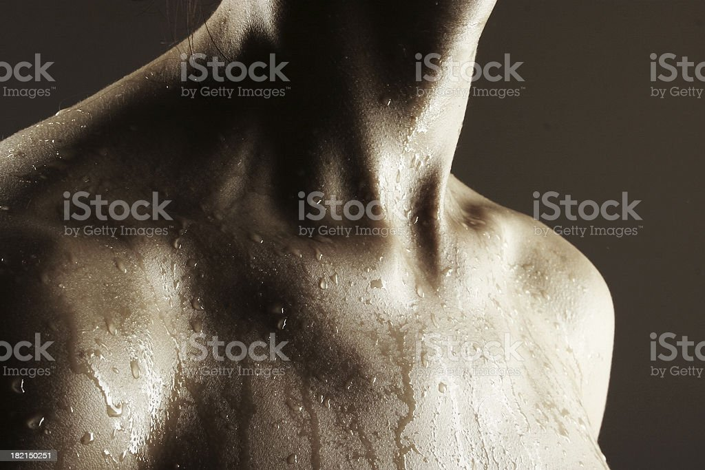 Wet 1 stock photo