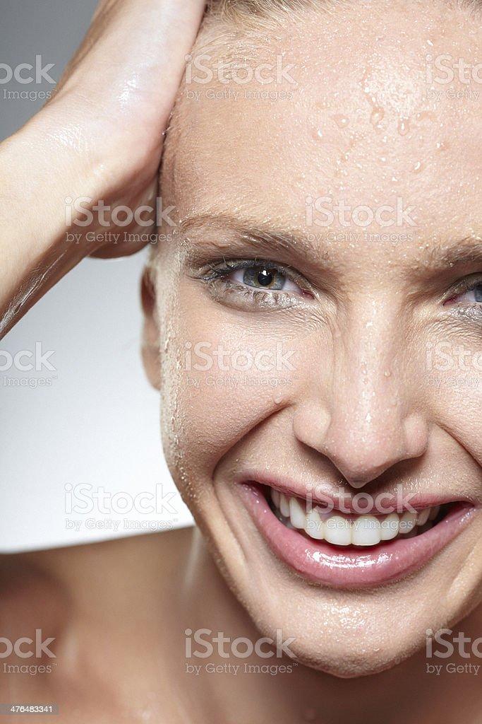 Wet Beauty royalty-free stock photo