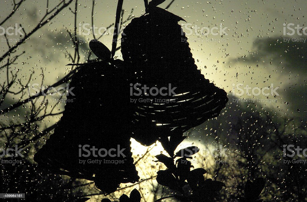 Wet Christmas in 2013 royalty-free stock photo